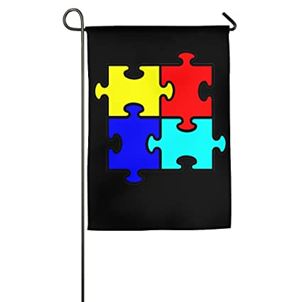 Amazon Puzzle Piece Autism Symbol Printed Outdoorindoor