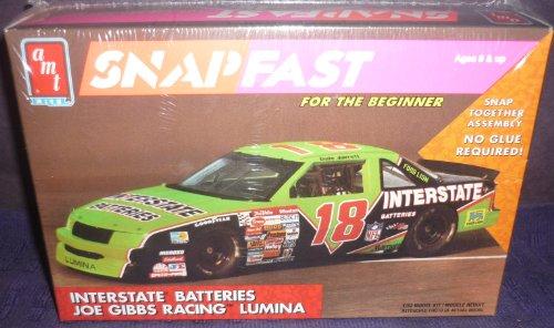 #8728 AMT Dale Jarrett #18 Interstate Batteries Snap Fast 1/32 Scale Plastic Model Kit,Needs Assembly