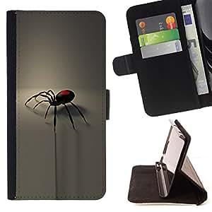 For HTC DESIRE 816 - pauk valentinka gotika serdce /Funda de piel cubierta de la carpeta Foilo con cierre magn???¡¯????tico/ - Super Marley Shop -