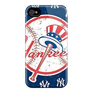 Hard Plastic Iphone 6plus Cases Back Covers,hot New York Yankees Cases At Perfect Customized
