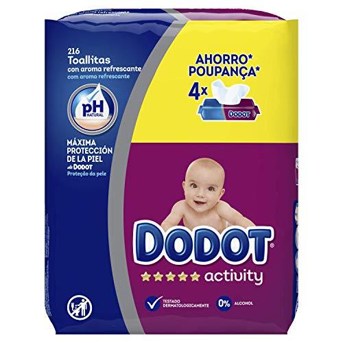 🥇 Dodot Activity -Toallitas para bebé