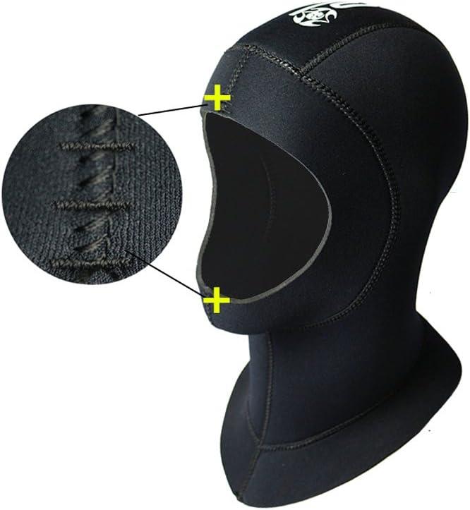 SLINX Wetsuits Premium Snorkeling 3mm//5mm Surfing Hat Cap Water Dive Neoprene Hood
