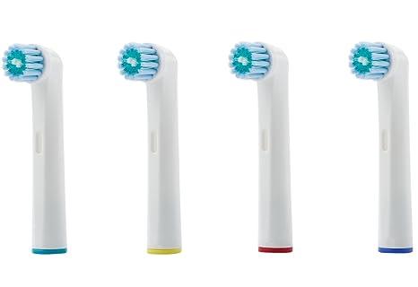 8 testine spazzolini setola MEDIA compatibili ORAL-B con setole DUPONT