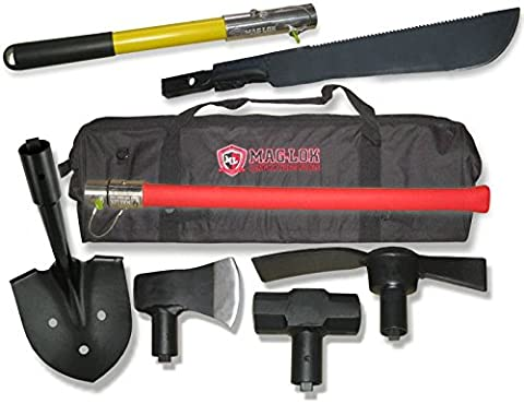 Mag-Lok 5-Piece Offroader's Kit II (4X4 OFF-ROAD VEHICLES) (Max Axe Tool)