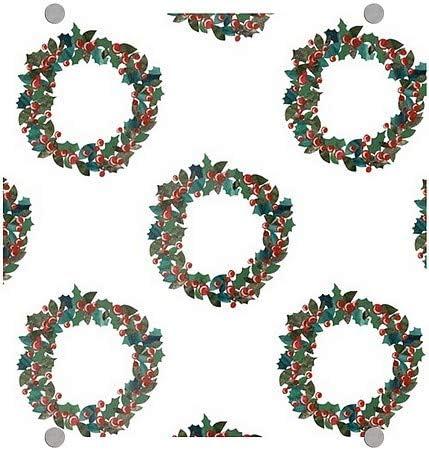 CGSignLab 16x16 Holiday Decor Wreaths Premium Acrylic Sign