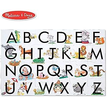 Amazon Com Melissa Amp Doug Abc Learn The Alphabet Floor