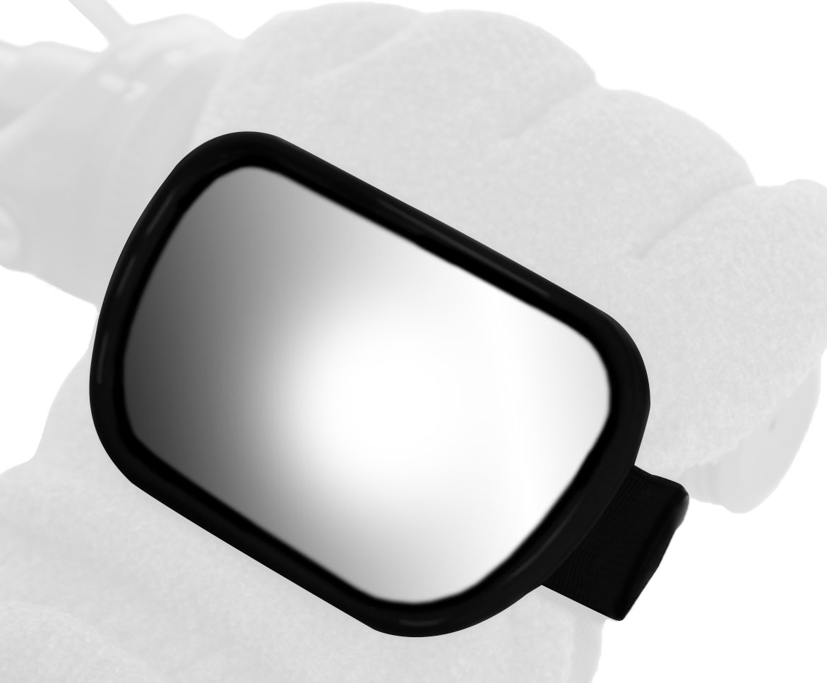 Ken Sean 97013 3 1//2 x 2 1//4 Size Hand Mount Snowmobile Mirror