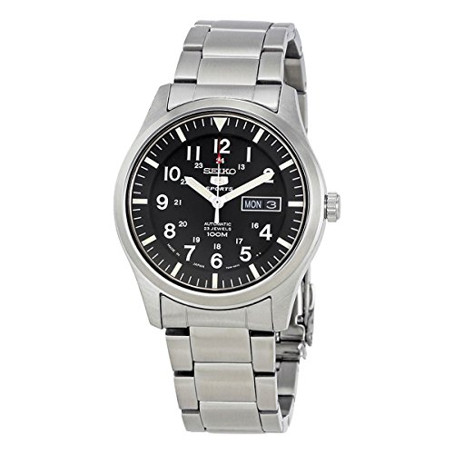 Japan Seiko 5 (Seiko 5 Sports Military Automatic Gents SNZG13J1)