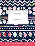 Product review for Adult Coloring Journal: Alateen (Turtle Illustrations, Tribal Floral)