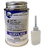 Weld-On 4 Acrylic Adhesive - 4 Oz and Weld-On