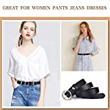 WONDAY Women Leather Belt- Geniue Leather Waist