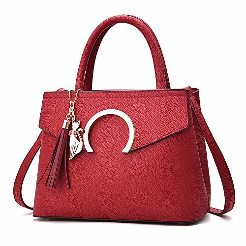 Fashion Handbag Crossbody Wine Messenger Top Women Briefcase Female Travel Leather Shoulder Bags Handle AILEESE Casual Tote Bdxtg4t