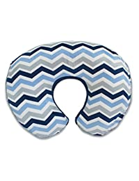 Boppy Pillow Slipcover, Boutique Navy Chevron BOBEBE Online Baby Store From New York to Miami and Los Angeles