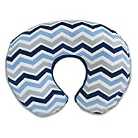 Boppy Pillow Slipcover, Boutique Navy Chevron