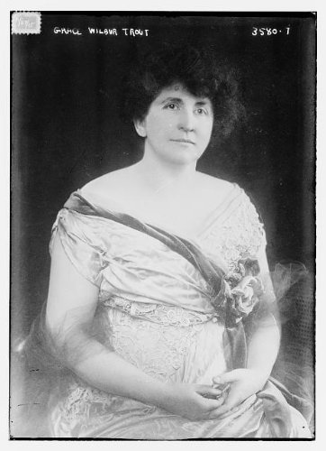 Photo: Grace Belden Wilbur Trout,American suffragist,women's rights,portrait - For Code Oakley Coupon