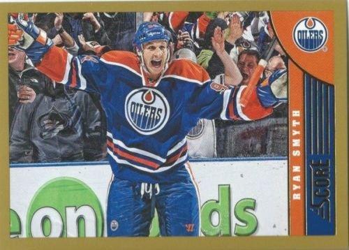((HCW) 2013-14 Panini Score Gold #184 RYAN SMYTH Oilers NHL Hockey)