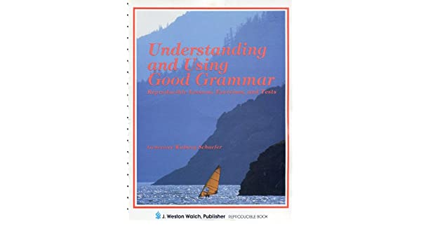 Understanding and Using Good Grammar (Reproducible Lessons ...
