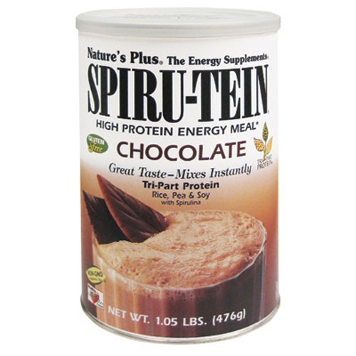Spiru-Tein High Protein Energy Meal Chocolate - 1.05 lb b...