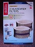 sunbeam e humidifier filters - Sunbeam SF212 OEM Cool Mist Humidifier Filter 'A', 2-pk