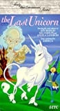 The Last Unicorn VHS Tape