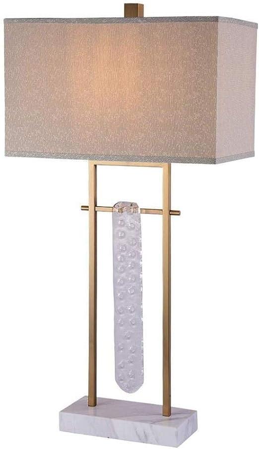 XYFJD Lámpara de Mesa lámpara de cabecera Habitación Sala de ...