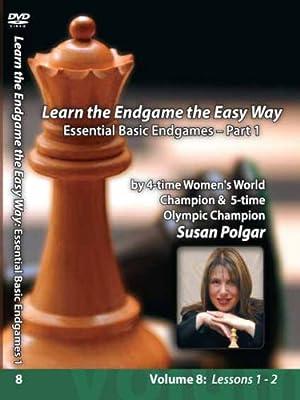 Learn The Endgame the Easy Way Essential Basics Susan Polgar Vol.8 Part 1