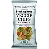 The Daily Crave Veggie Chips, 6 Ounce (Pack of 6)
