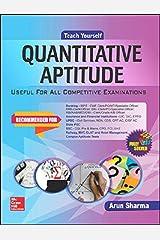 Teach Yourself Quantitative Aptitude Kindle Edition