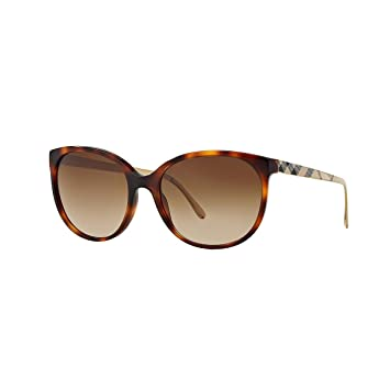 Amazon.com: Burberry anteojos de sol Para Mujer be4146 ...