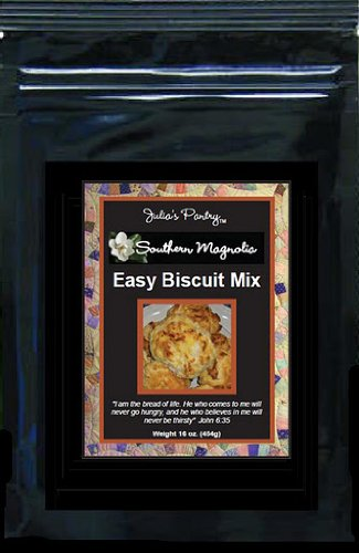 Julia's Southern Magnolia Biscuit Mix 18oz Pkg by Julia's Pantry