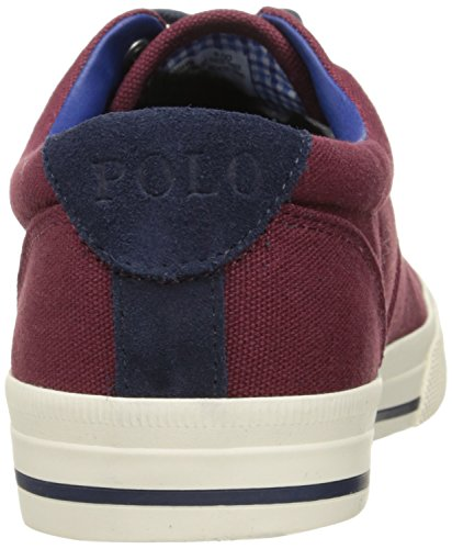 Polo Ralph Mens Lauren Vaughn Gymnastiksko, Port, 10 D Oss