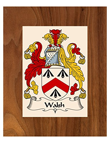 - Carpe Diem Designs Walsh Coat of Arms/Walsh Family Crest 8X10 Photo Plaque, Personalized Gift, Wedding Gift