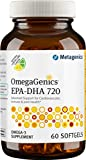 Metagenics - OmegaGenics EPA-DHA 720 Natural Lemon-Lime Flavor - 60 Softgels