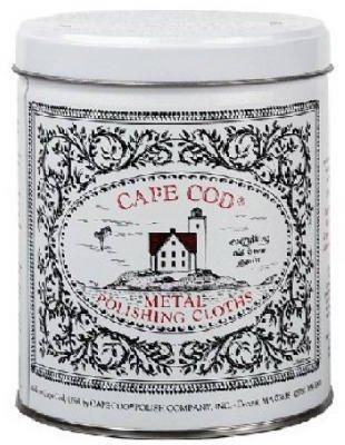 CAPE COD POLISH CO. 8828 MTL Polishing Cloth Kit Cape Cod House Kit