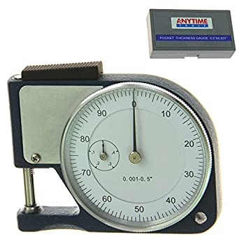 Anytime Tools Pocket Thickness Micrometer 0 5