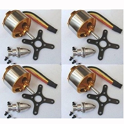 powerday XXD A2212 1000KV Brushless Motor for X525 X450 Quadcopter Multirotor Hexacopter 4pcs