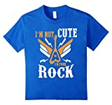 Apparel : I'm Not Cute I'm Punk Rock T-shirt