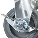 Houseables Caster Wheels, Casters, Set of 4, 3