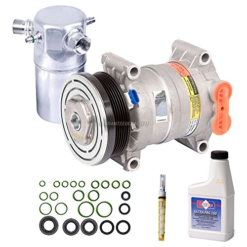OEM AC Compressor w/A/C Repair Kit For Chevy Astro & GMC Safari 2002-2005 - BuyAutoParts 60-83558RN NEW