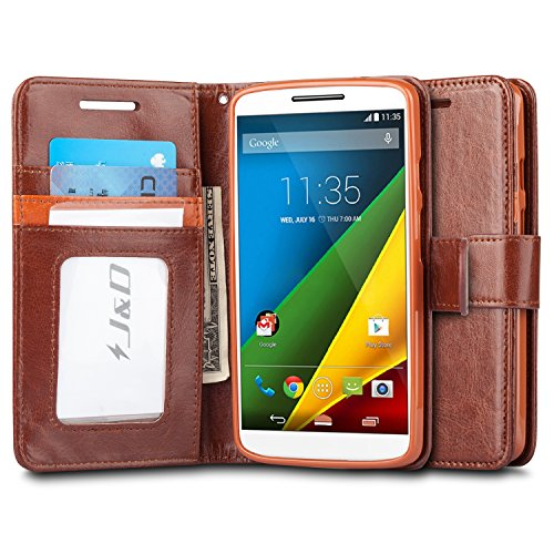 for Moto Droid Turbo 2 Case, Moto X Force Case, [Wallet Stand] [Slim Fit] Heavy Duty Protective Shockproof Flip Wallet Case for Motorola Moto Droid Turbo 2 (Verizon) Wallet Case ()