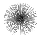 Cheap Modern Day Accents 5150 Erizo Spiked Large Silver Sphere
