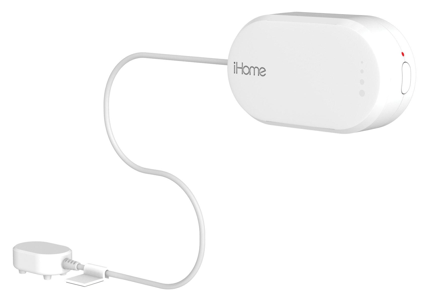 iHome iSB02 Battery Powered WI-FI Dual Leak Sensor, White by iHome