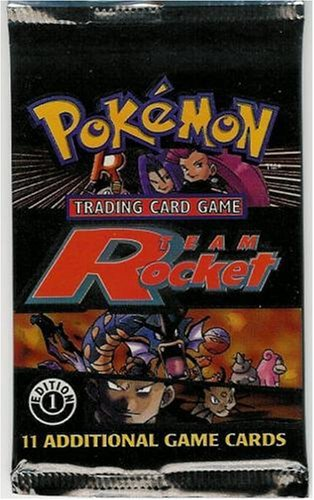 - Pokemon Card Game - Team Rocket 1st Edition Booster Pack - 11 Cards