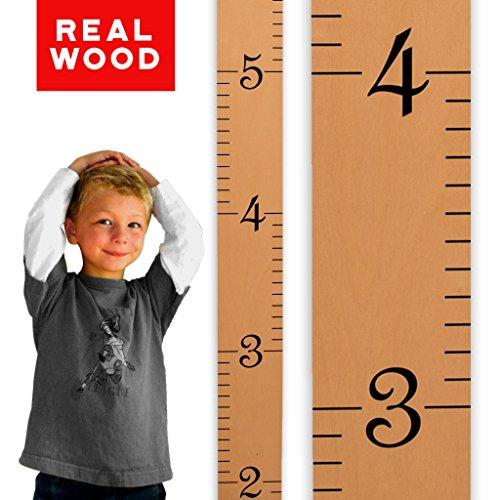 Growth Chart Art Wooden Numerals