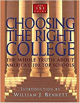 choosing the right college the whole truth about america