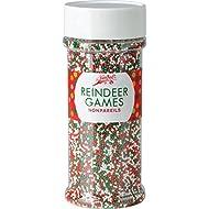 Festival Reindeer Games Holiday Nonpareils 5.1oz Jar