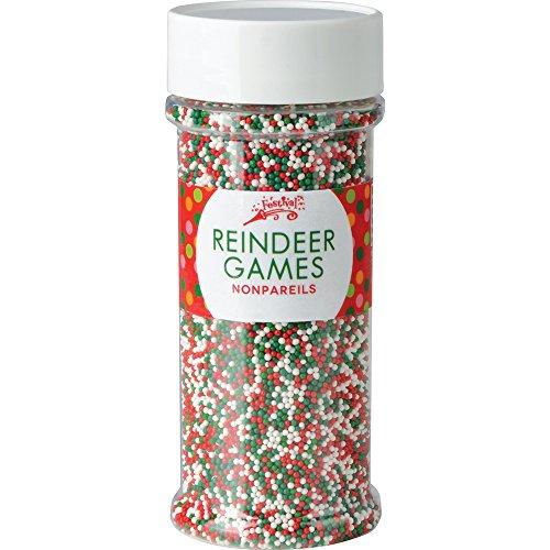 Festival Reindeer Games Holiday Nonpareils 5.1oz Jar for $<!--$9.99-->