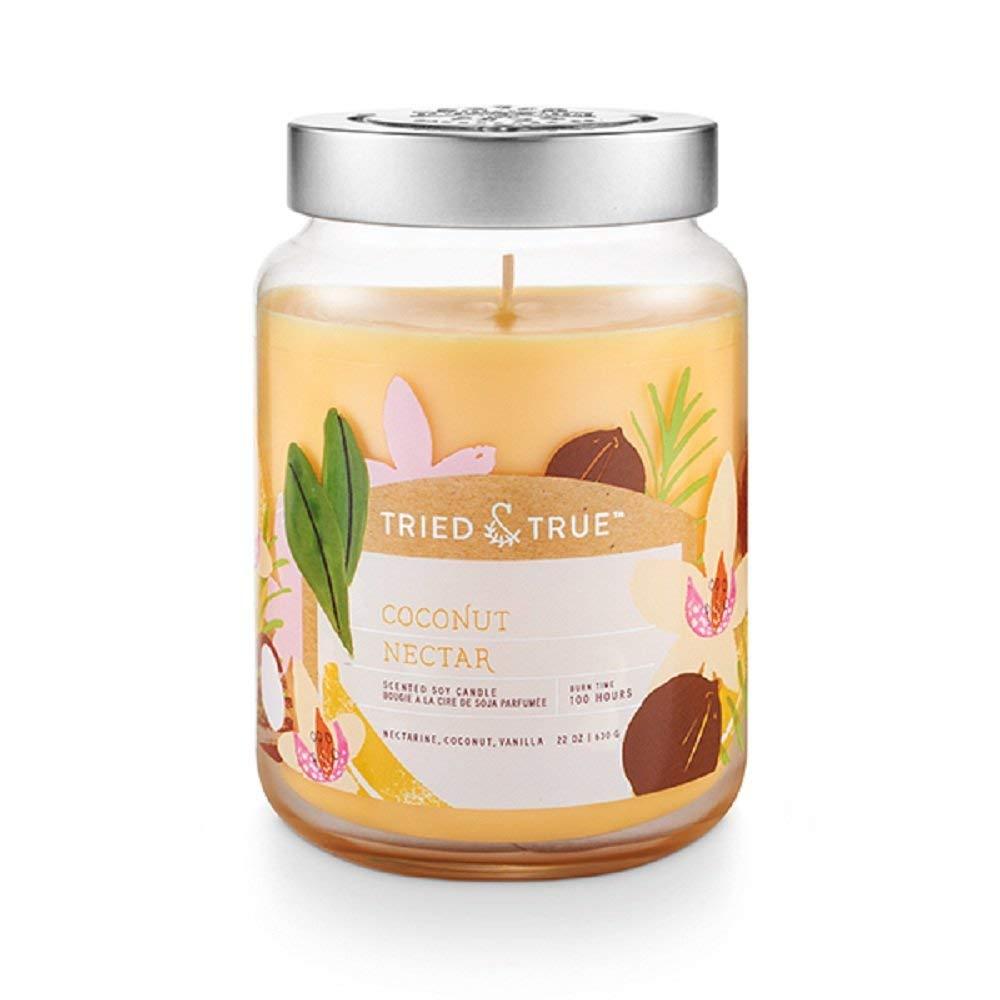 【レビューを書けば送料当店負担】 Tried and True Coconut Nectar、XL and Jar Coconut Candle、22.2オンス Nectar、XL B079GVHZHD, 勝山市:9077685a --- egreensolutions.ca