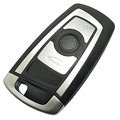 Replacement Key Fob Case fit for BMW 1 3 5 Series 320li 525li X3 X4 X5 X6 Keyless Entry Smart Remote Key Fob Shell Cover No Chip: Automotive