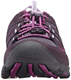 KEEN Oakridge Low Hiking Shoe (Little Kid/Big Kid), Plum/Purple Wine, 4 M US Big Kid